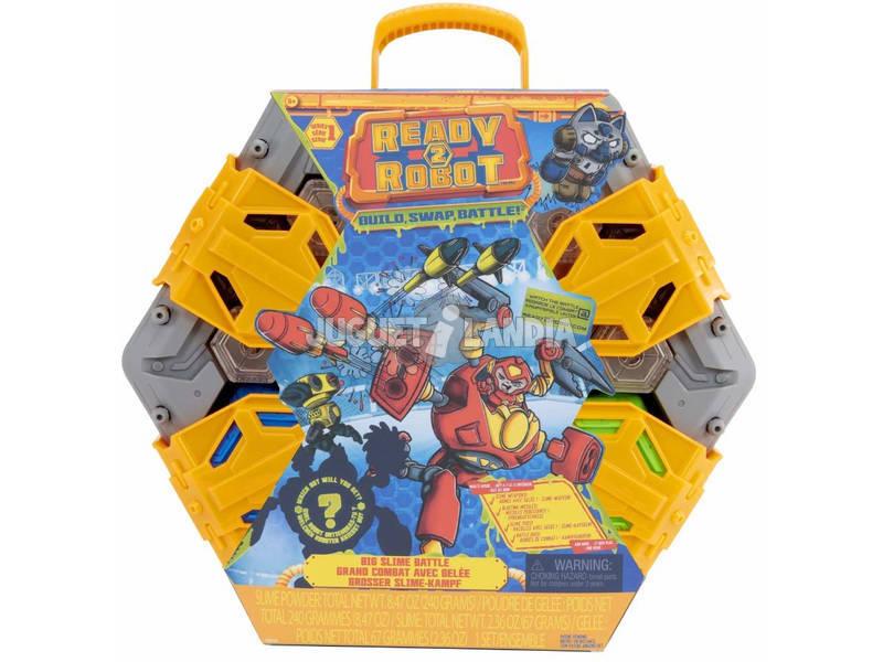 Ready 2 Robot Big Slime Battle Arena di Gioco Giochi Preziosi RED03000