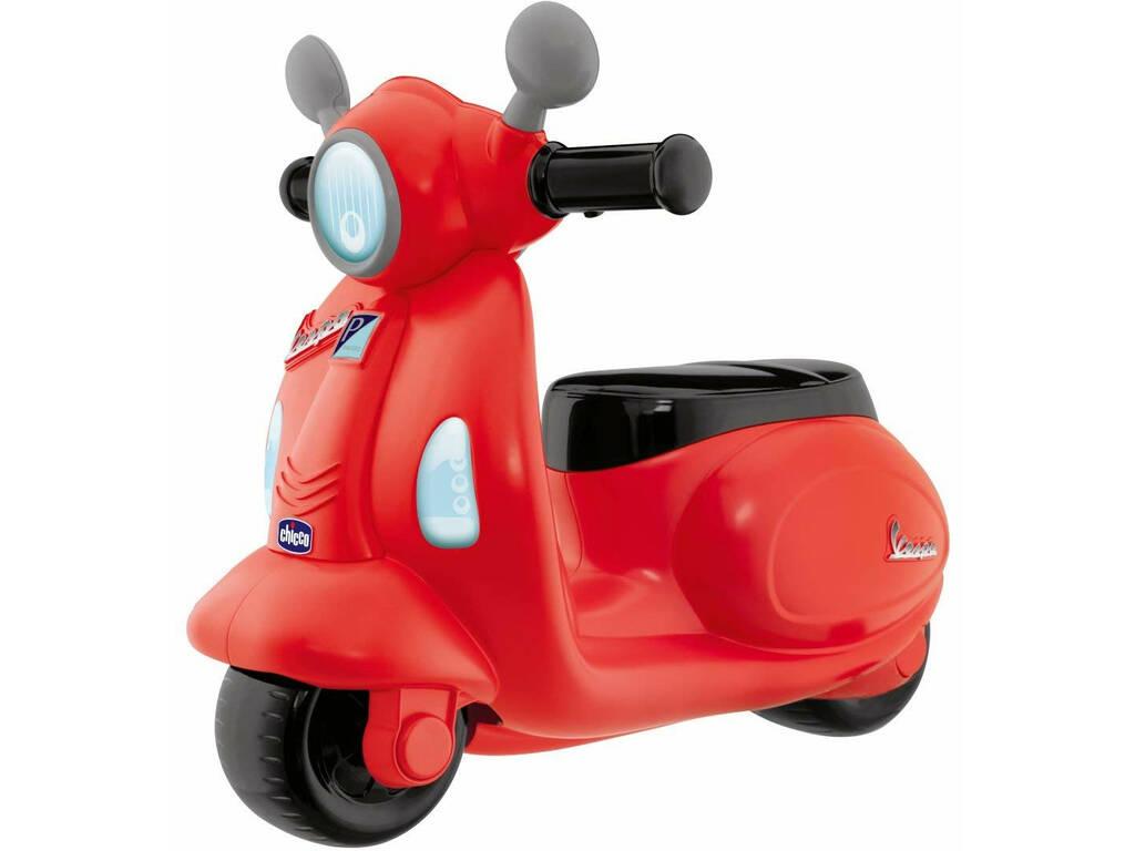 Andador Vespa Primavera Vermelha Chicco 9519
