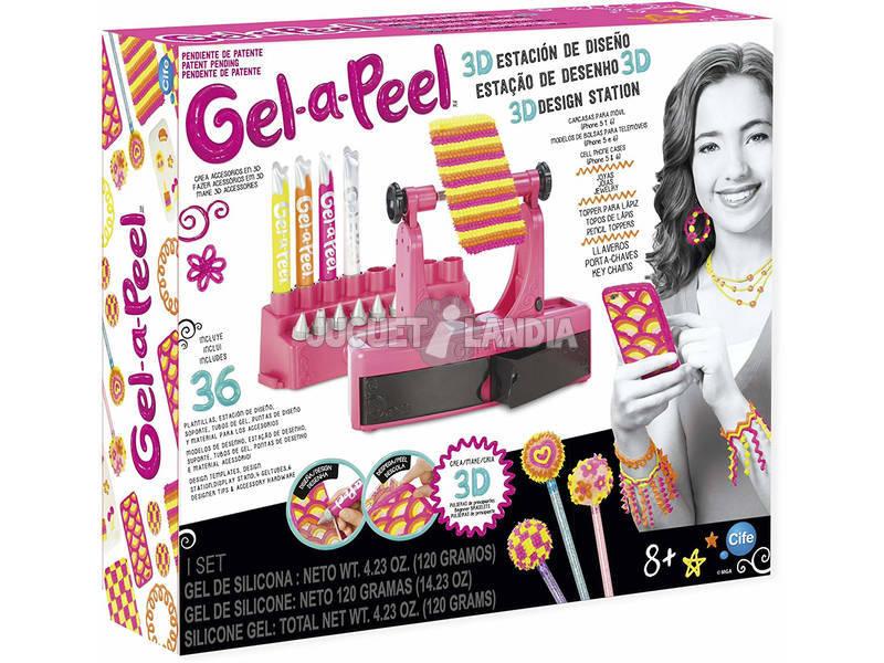 Gel a Peel Set Estación de Diseño 3D Cife 40743