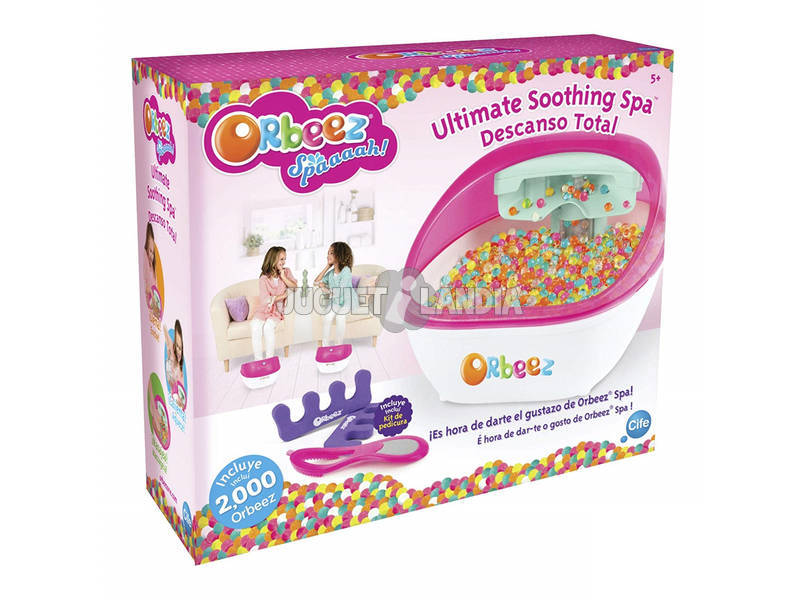 Orbeez Ultimate Shooting Spa Descanso Total Cife 41487