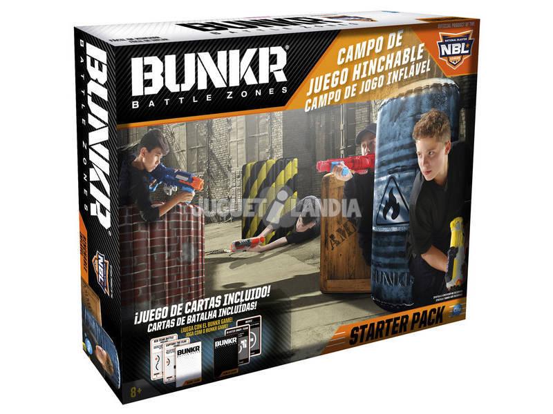 Bunkr Battle Zone Campo de Juego Hinchable Cife 41646