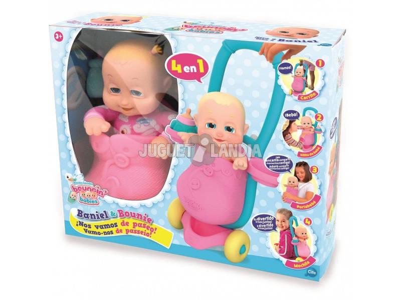 Bouncin' Babies Vamos Passear Cife 41521