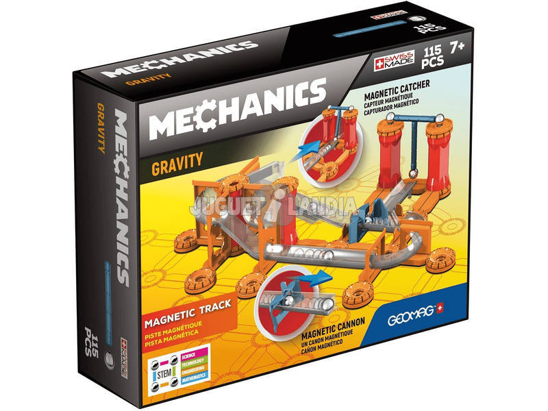 Geomag Mechanics Gravity Race Track 115 Piezas Toy Partner 772