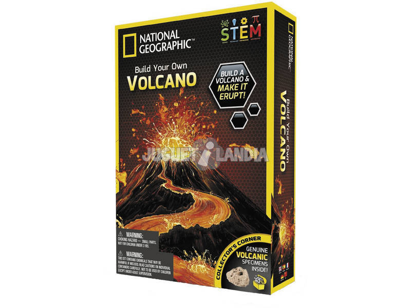 Crea Tu Volcán Toy Partner 60061