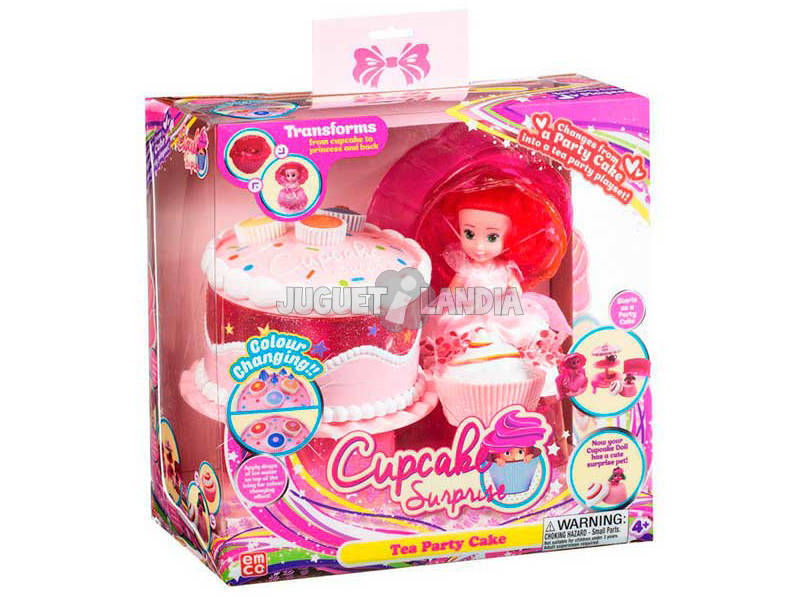 Bolo Cupcake Delight Playset Toy Partner 1136