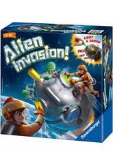 Gioco da Tavolo Alien Invasion Ravensburger 21379