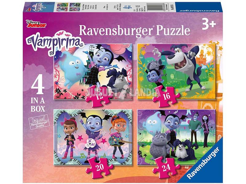 Vampirina Puzzle Progressivo 4 em 1 Ravensburger 6973