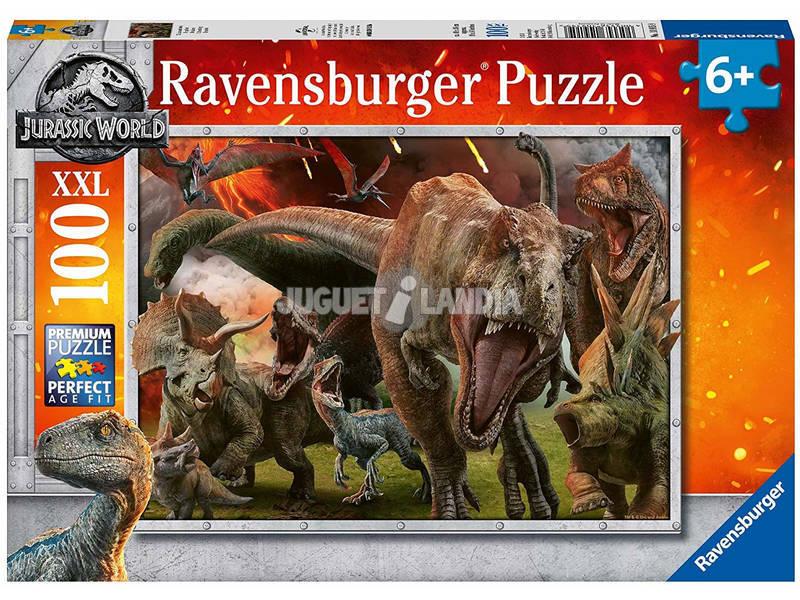 Jurassic World Puzzle XXL 100 Piezas Ravensburger 10915