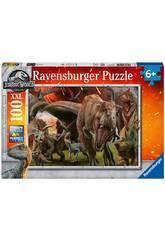 imagen Jurassic World Puzzle XXL 100 Piezas Ravensburger 10915
