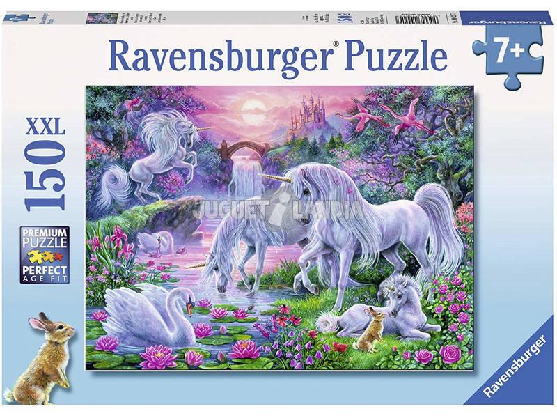 Puzzle XXL Unicornios Puesta de Sol 150 Piezas Ravensburger 10021