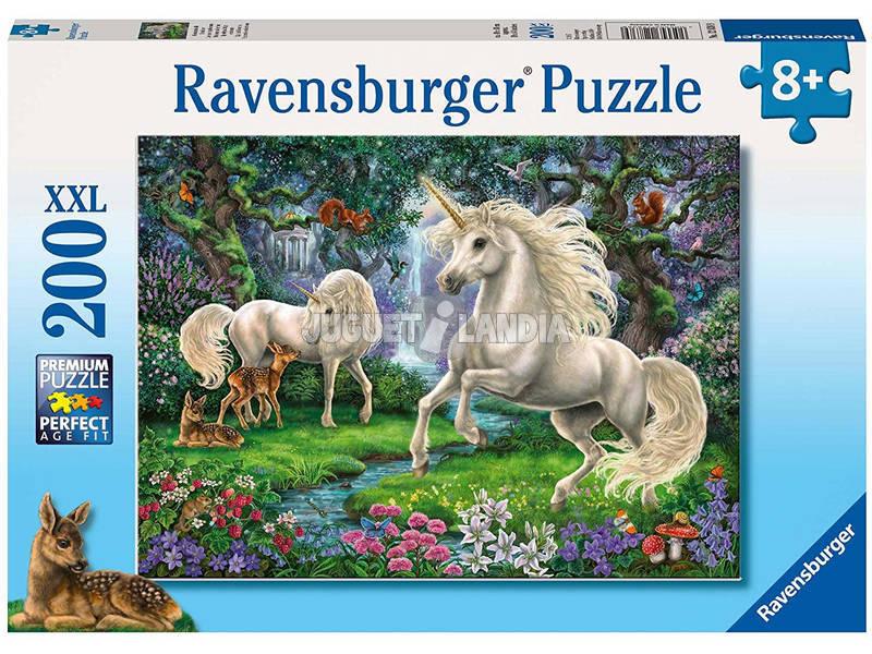 Puzzle XXL Unicornios en el Rio 200 Piezas Ravensburger 12838