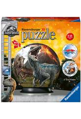 Jurassic World Puzzleball 3D 72 Piezas Ravensburger 11757