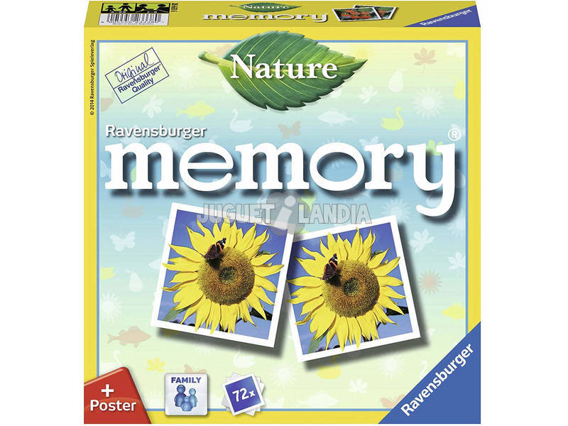 Juego De Mesa Memory Naturaleza Ravensburger 26633