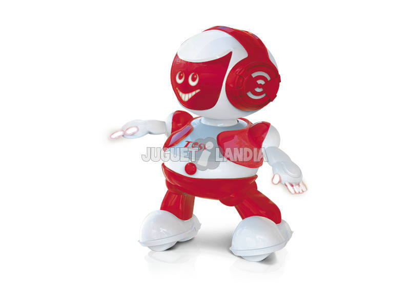 Robô Partybot Juguetrónica JUG0173