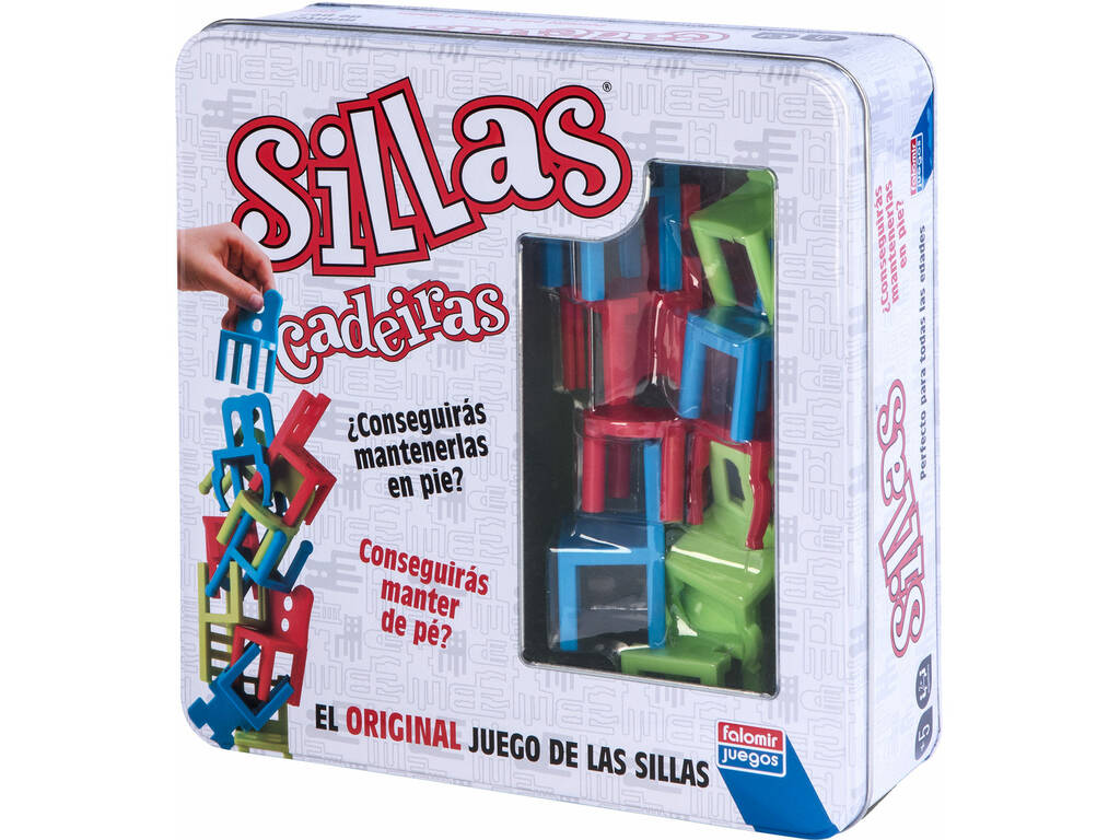 Sillas Colors Falomir 28022