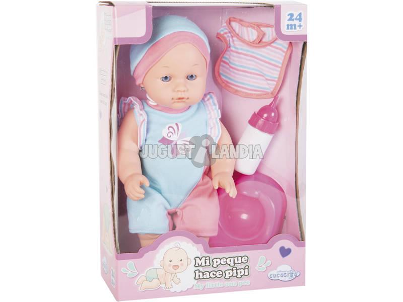 Bambola Bebé Pipí 30 cm. con Accessori