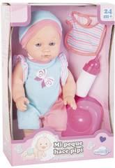 Babypuppe Pisse 30 cm. mit Zubehör