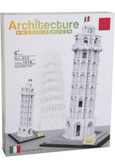 imagen Bloques de Construcción Torre de Pisa 1519 Piezas