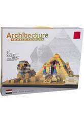 imagen Bloques de Construcción Pirámide y Efinge 1187 Piezas