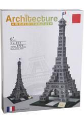 imagen Bloques de Construcción Torre Eiffel 1777 Piezas
