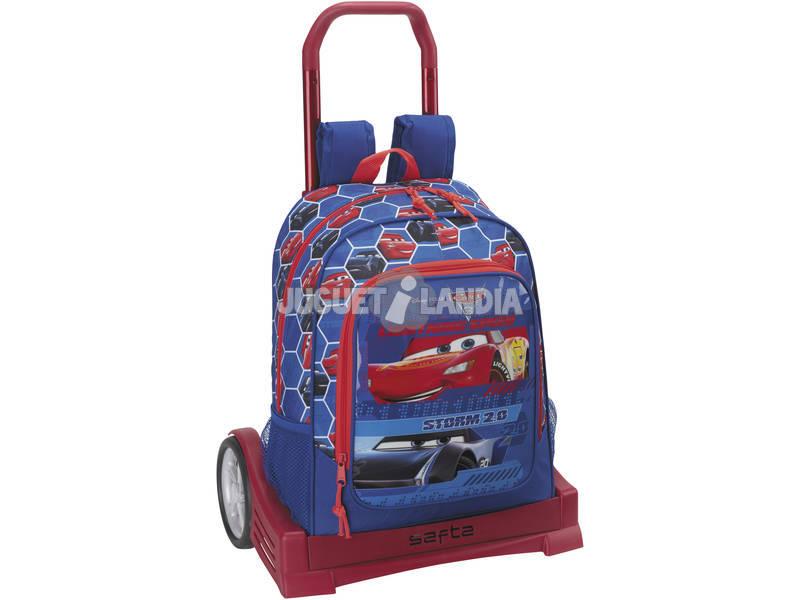 Mochila con Carro Evolution Cars 3 Safta 611809860