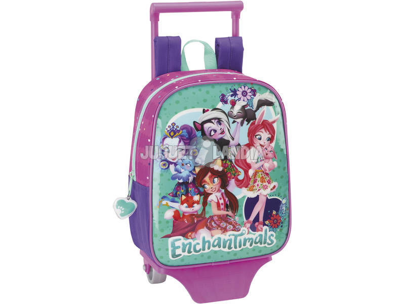 Mochila Guardería con Carro Enchantimals Safta 611837280