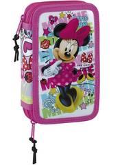 imagen Astuccio Doble Piccolo 28 pezzi Minnie Mouse Cool Safta 411848854
