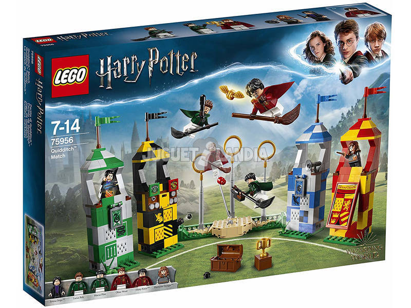 Lego Harry Potter Partita di Quidditch 75956