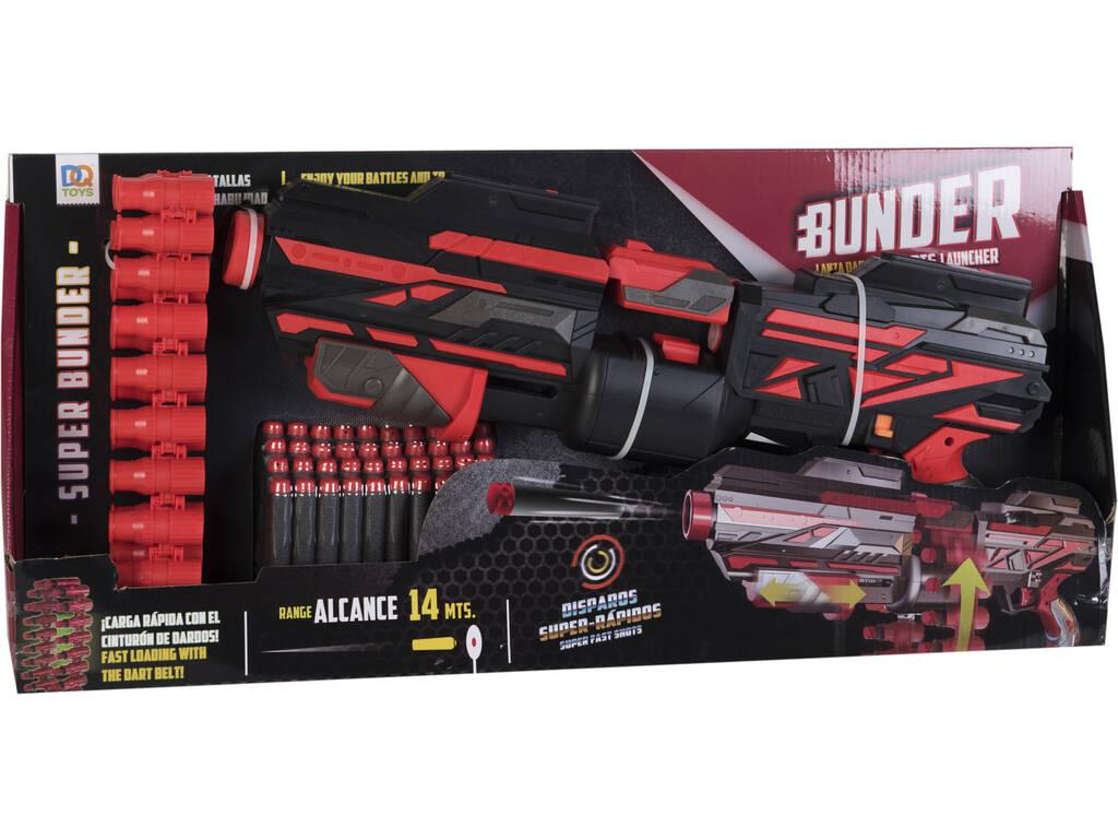 Lanzadardos Bunder 49 cm. con 40 Dardos