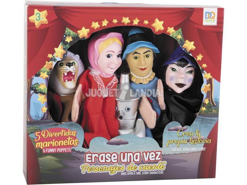 Set 5 Marionetas Mago de Oz