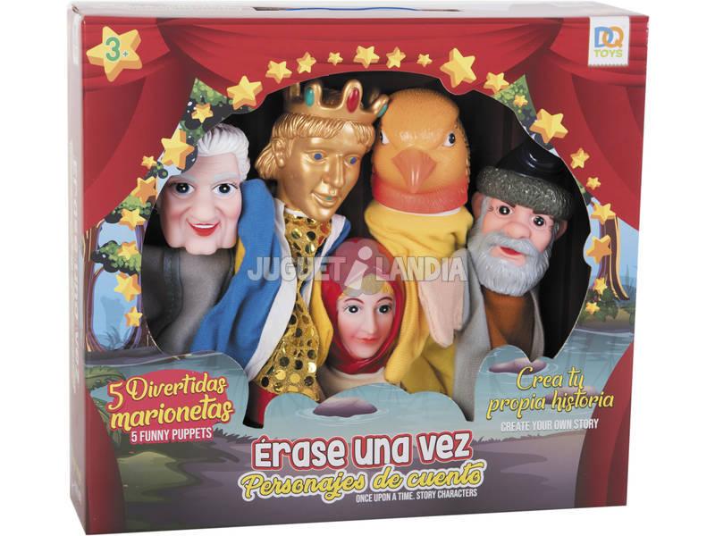 Set 5 Marionetas Happy Prince