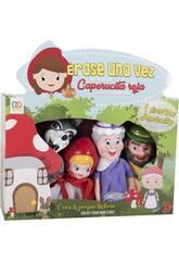 Set 4 Marionette Cappuccetto Rosso