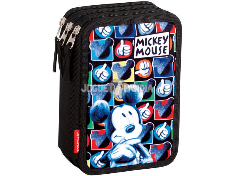 Plumier Triple Mickey Hands Perona 55387