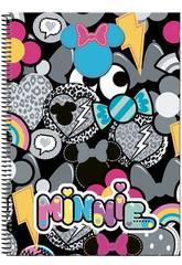 Bloc A4 100 Feuilles Couverture Rigide Minnie Patch Perona 55455