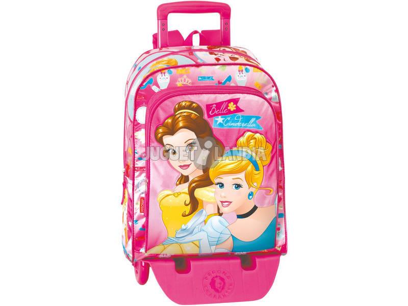 Mochila com Rodas Princesas Gift Perona 54247