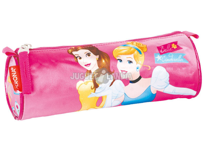Porta-tudo Tubo Princesas Gift Perona 54248