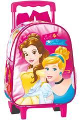 Mochila Guardería con Carro Princesas Gift Perona 54253