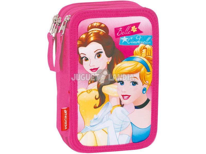 Estojo Triplo Princesas Gift Perona 54257