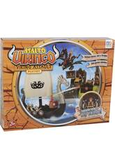 Assalto Vichingo playset con Barca, Isola e Figure