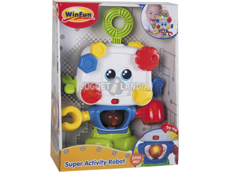 Super Activity Robot