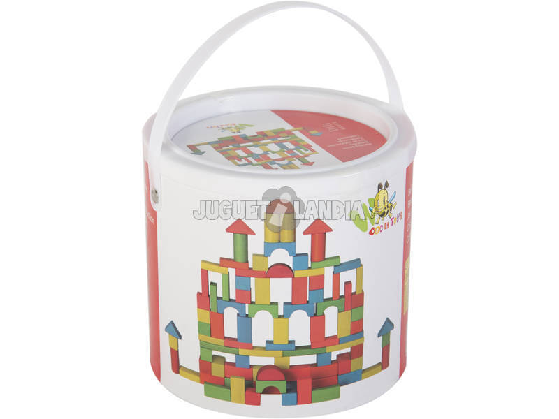 Caja con 50 Bloques de Construccion