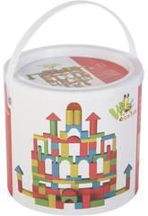 imagen Caja con 50 Bloques de Construccion