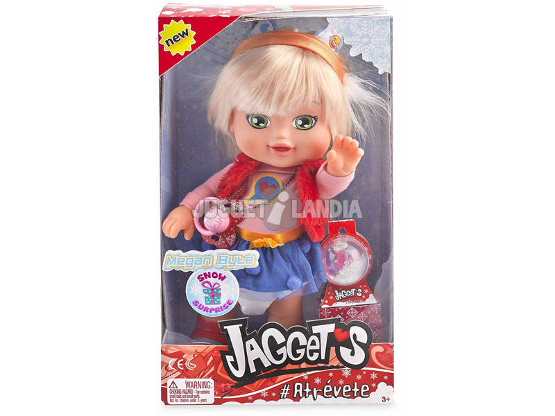 Jaggets Snow Surprise Megan Byte Famosa 700014722