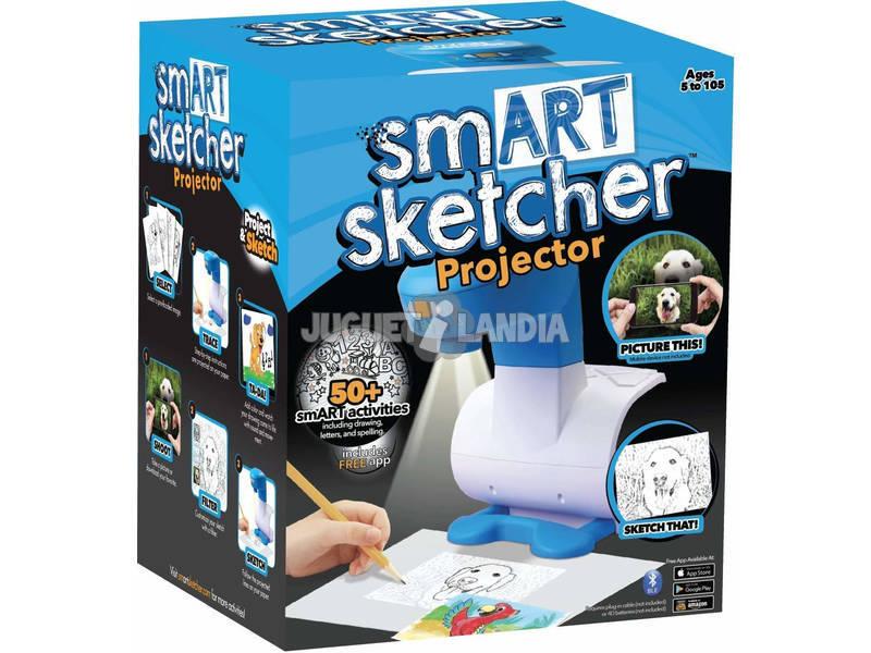 Projetor de crianças Smart Sketcher Famosa 700014580