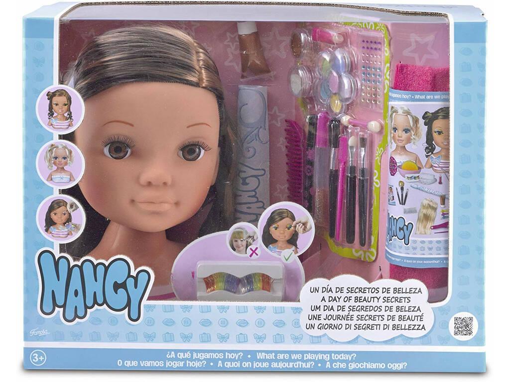 Nancy Un Día De Secretos De Belleza Morena Famosa 700013833