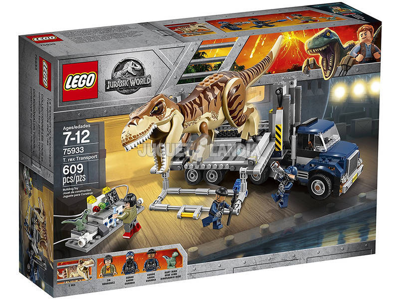 Lego Jurassic World Transporte do T-Rex 75933