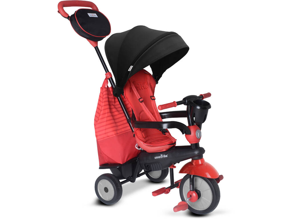 Triciclo 4 in 1 Swing DLX Rosso SmarTrike 6500500