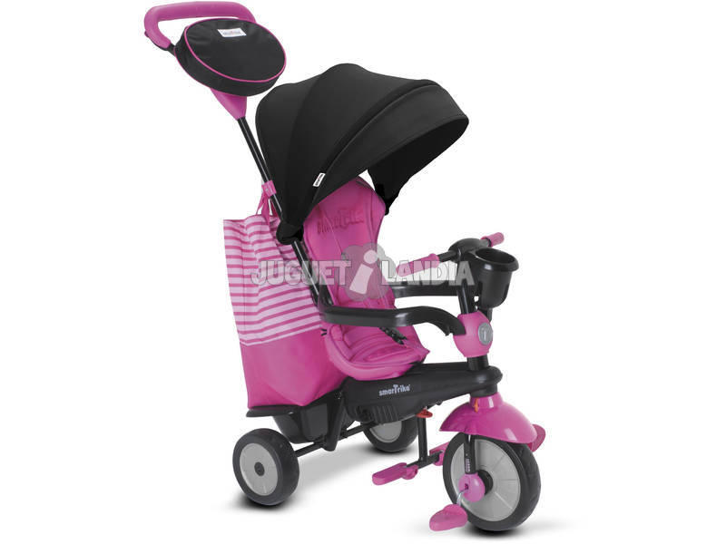 Triciclo 4 en 1 Swing DLX Rosa SmarTrike 6500600
