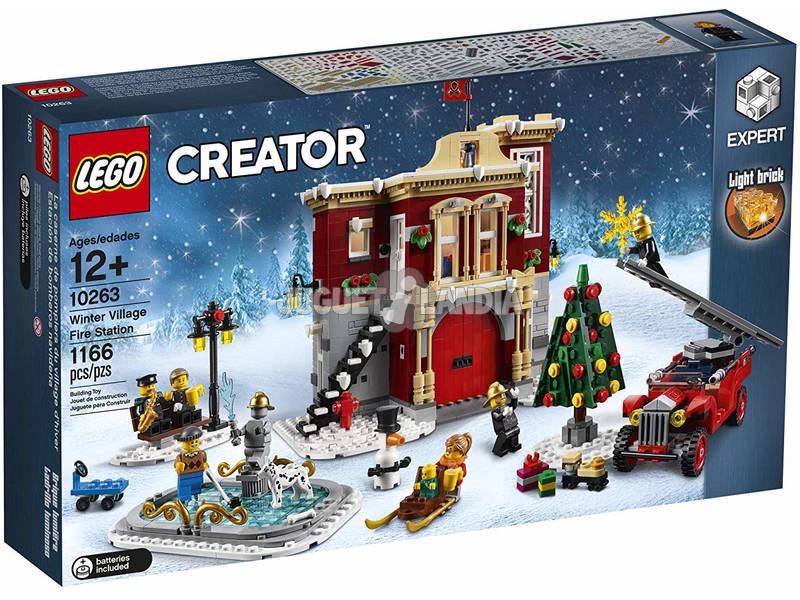 Lego Creator Quartel dos Bombeiros Natal 10263