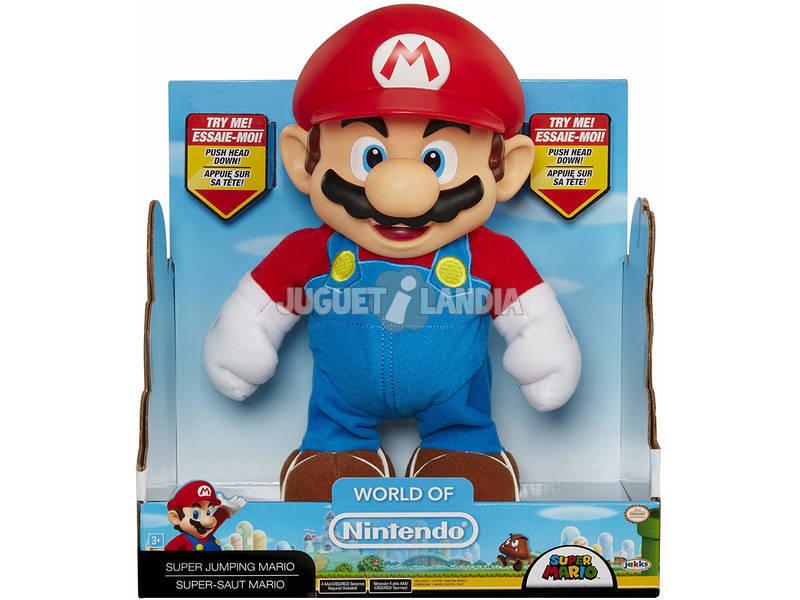 Nintendo Figura Super Mario Salta 25 cm. Glop Games 02492